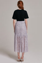 Georgia Lace Maxi Skirt | OROSHE