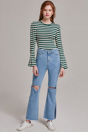 Brandy Bell-Bottom Jeans | OROSHE