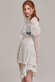 Misty Polka Dot Skirt | Oroshe