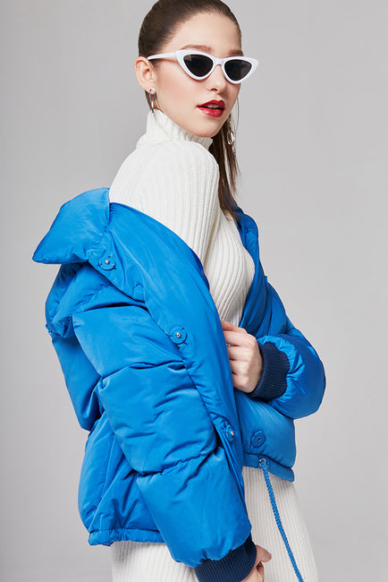 Cropped Padded Jacket | OROSHE