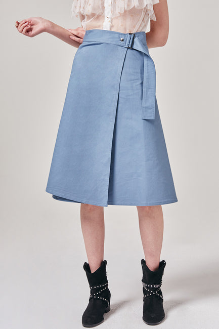 Midi Wrap Skirt | OROSHE