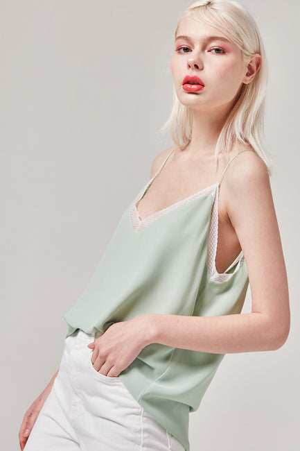 Mint Halter Top | OROSHE