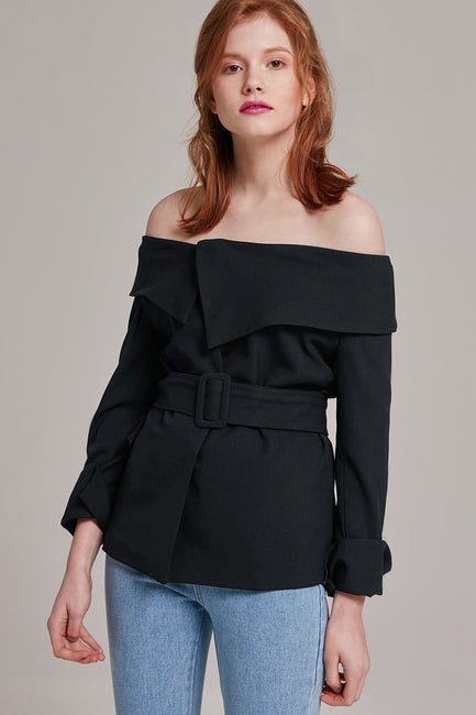 Polly Off-the-Shoulder Top | OROSHE