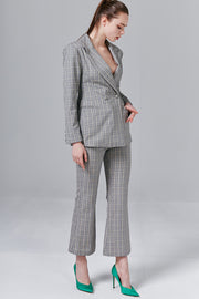 Renee Glen Plaid Blazer | OROSHE
