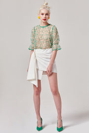 Structural Mini Skirt | OROSHE