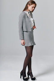 Taylor Tweed Blazer & Skirt Set | OROSHE