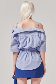 Twist Off the Shoulder Top | OROSHE