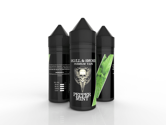Peppermint Skull & Smoke E-liquid