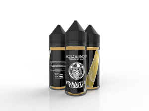 Pineapple Cream Skull and Smoke E-liquid