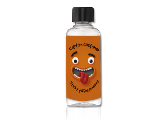 Captain Custardo Sticky Toffee 60ml