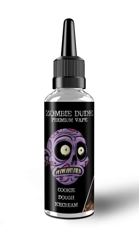 COOKIE DOUGH ICE CREAM BY ZOMBIE  DUDE E-LIQUID 100ml