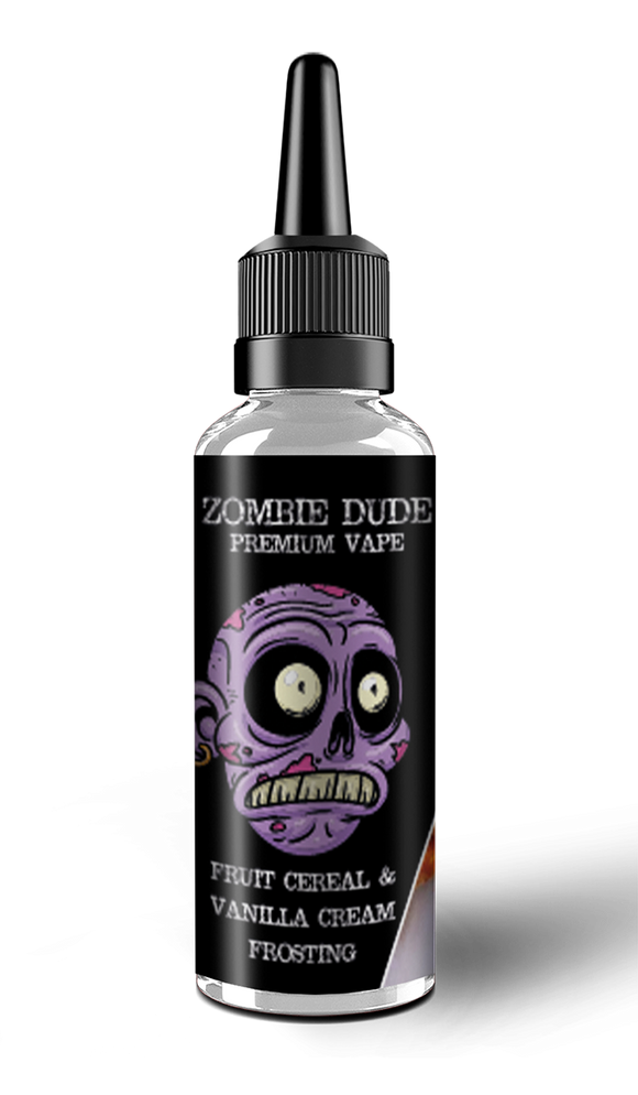 FRUIT CEREAL & VANILLA CREAM FROSTING BY ZOMBIE  DUDE E-LIQUID 100ml