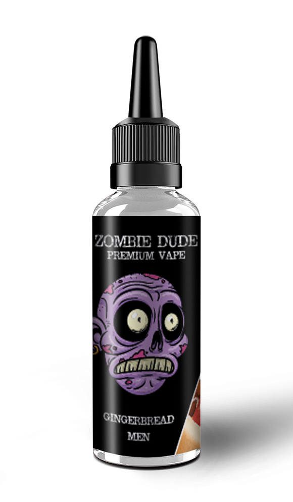 GINGER BREAD MEN BY ZOMBIE  DUDE E-LIQUID 120ml Short FIll