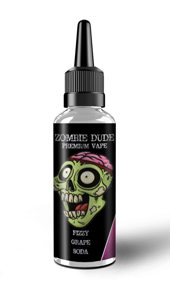 FIZZY GRAPE SODA BY ZOMBIE DUDE E-LIQUID 100ml