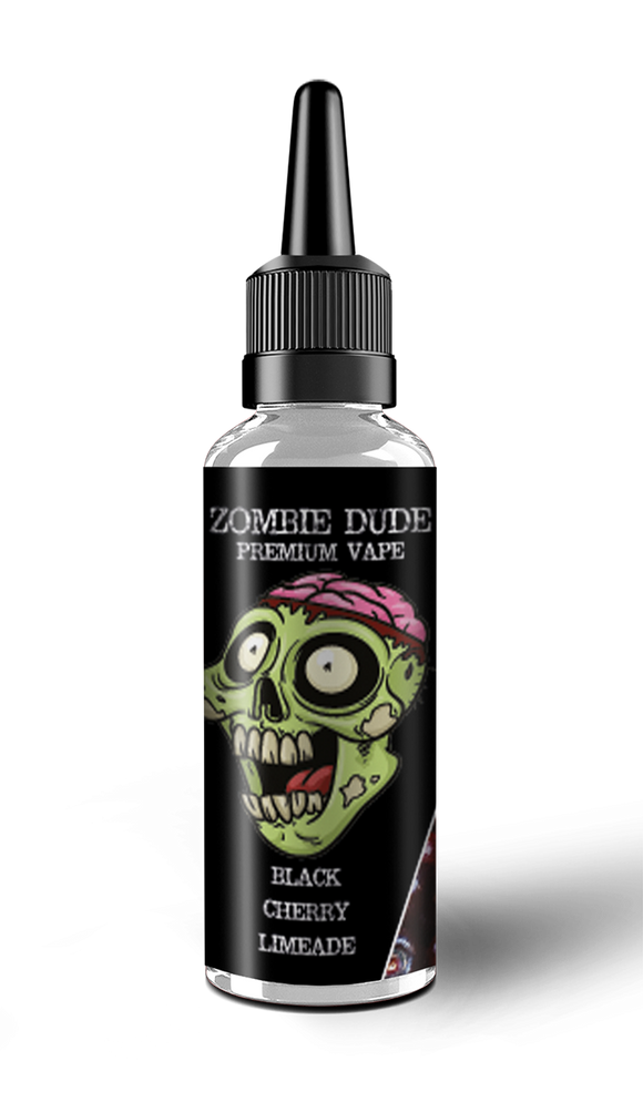 BLACK CHERRY LIMEADE BY ZOMBIE DUDE E-LIQUID 100ml