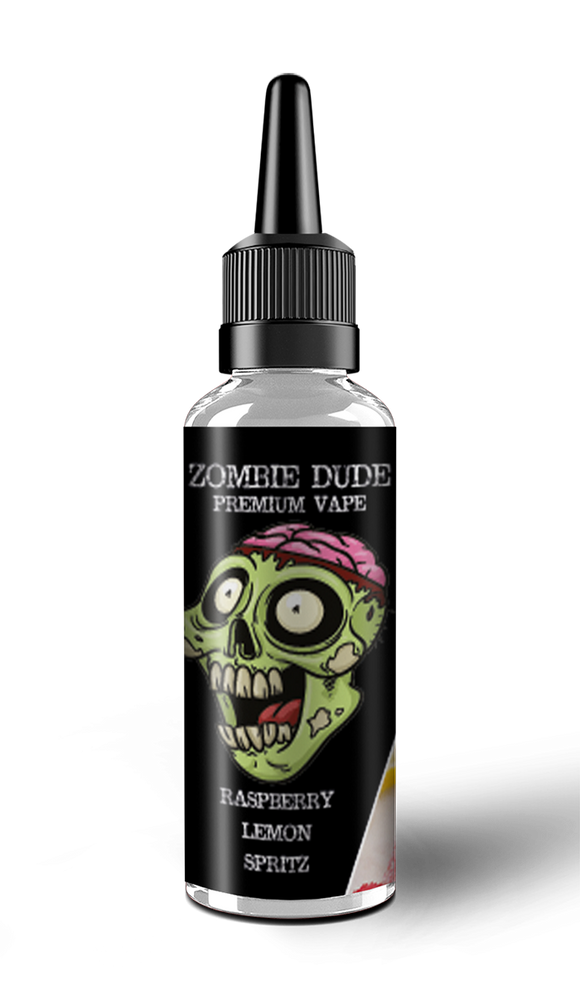RASPBERRY LEMON SPRITZ BY ZOMBIE DUDE E-LIQUID 120ml Short FIll