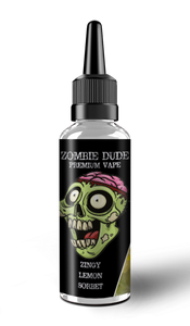 ZINGY LEMON SORBET BY ZOMBIE DUDE E-LIQUID 120ml Short Fill
