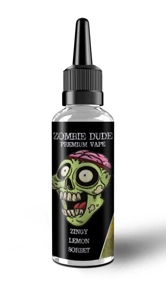 ZINGY LEMON SORBET BY ZOMBIE DUDE E-LIQUID 100ml