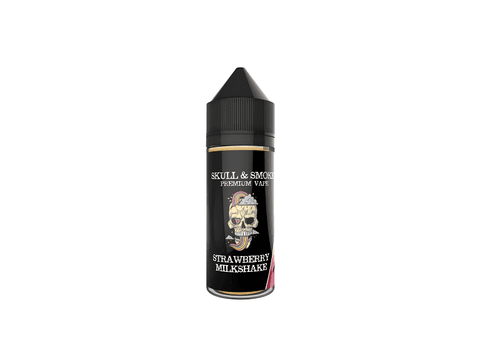 Strawberry Milkshake Skull and Smoke E-liquid