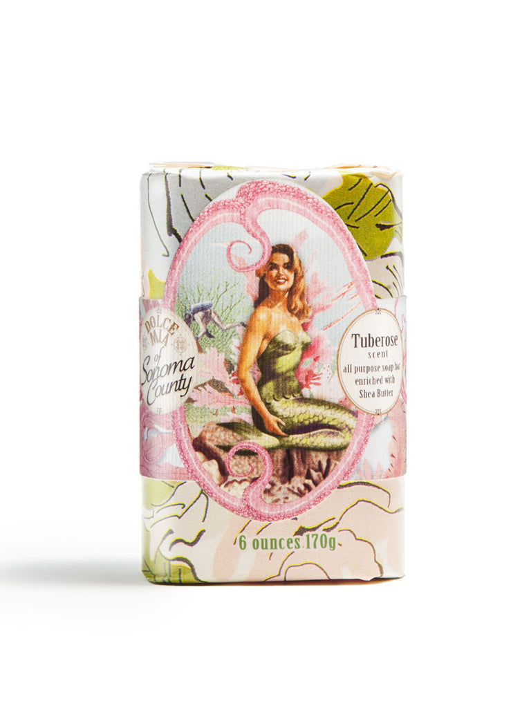 Summer Siren Tuberose Soap Bar 6 oz.