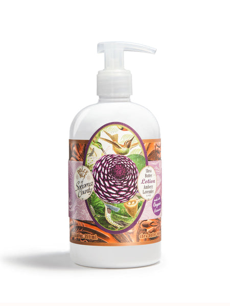 Amethyst Floral Ambery Lavender Lotion 12 oz.