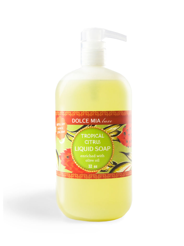 Finished Goods-Refill-Liquid Soap-32 oz-Tropical Citrus