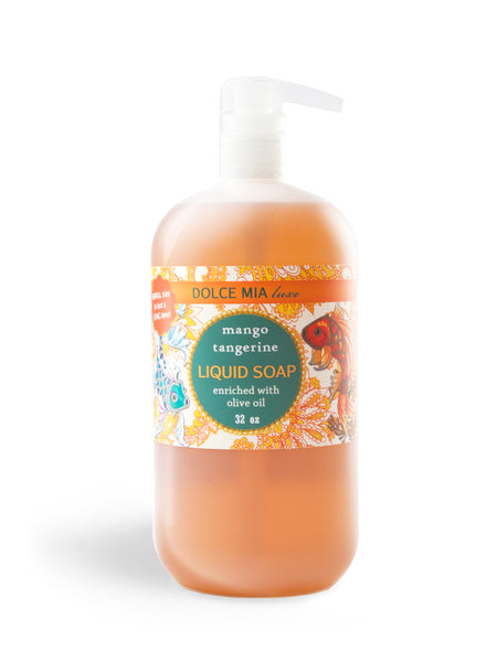 Finished Goods-Refill-Liquid Soap-32 oz-Mango Tangerine