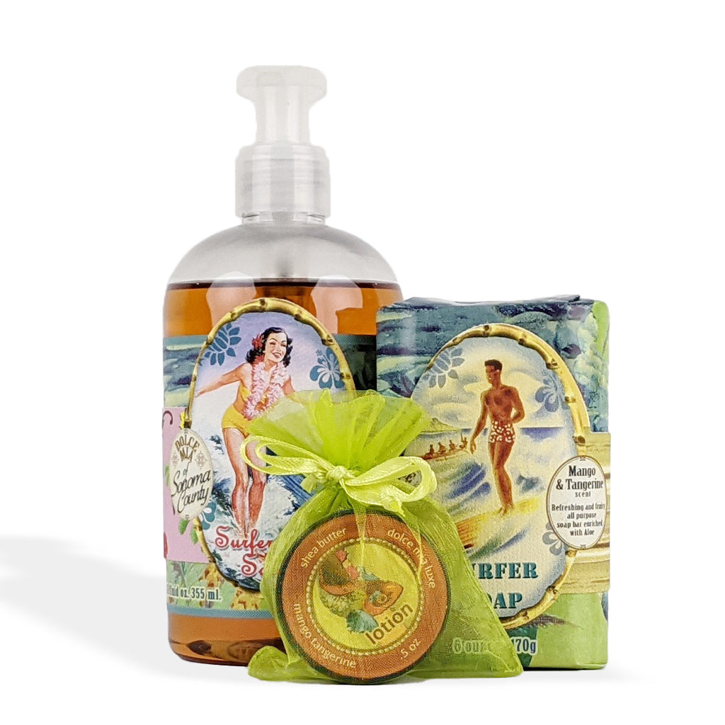 Liquid & Bar Soap Gift Set | Choose Your Fragrance