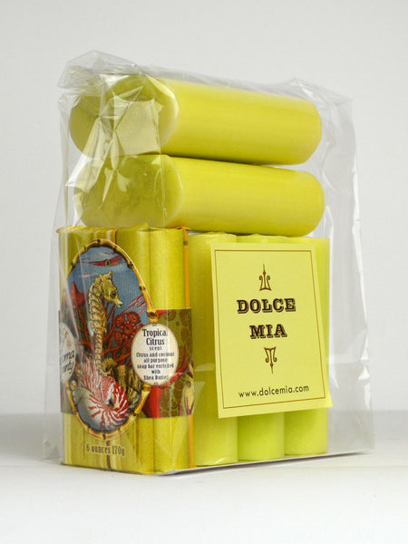 Finished Goods-Packaged Set--6 Items-Tropical Citrus-Soap Bar Super Set