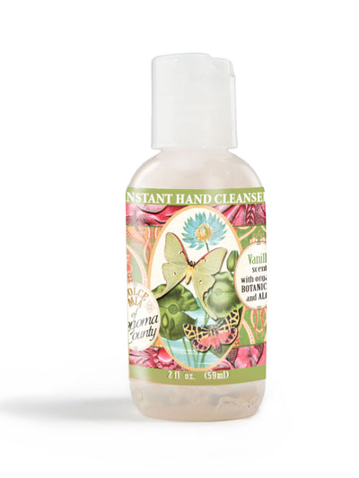 Dolce Mia Waterless Hand Sanitizer Vanilla Butterfly 2 oz