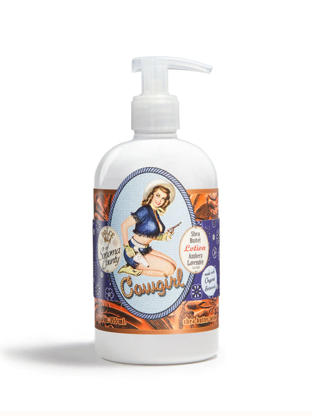 Shootin' Cowgirl Lotion