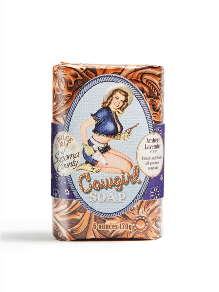 Shootin' Cowgirl Soap Bar