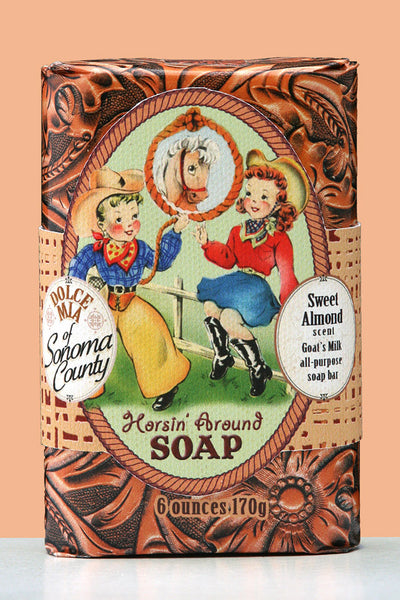 Horsin' Around Soap Bar