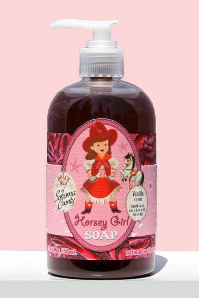 Horsey Girl Liquid Soap