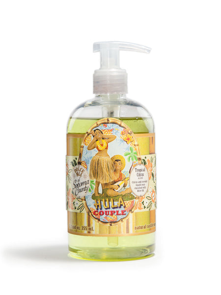 Hula Couple Liquid Soap