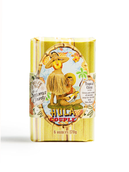Hula Couple Soap Bar