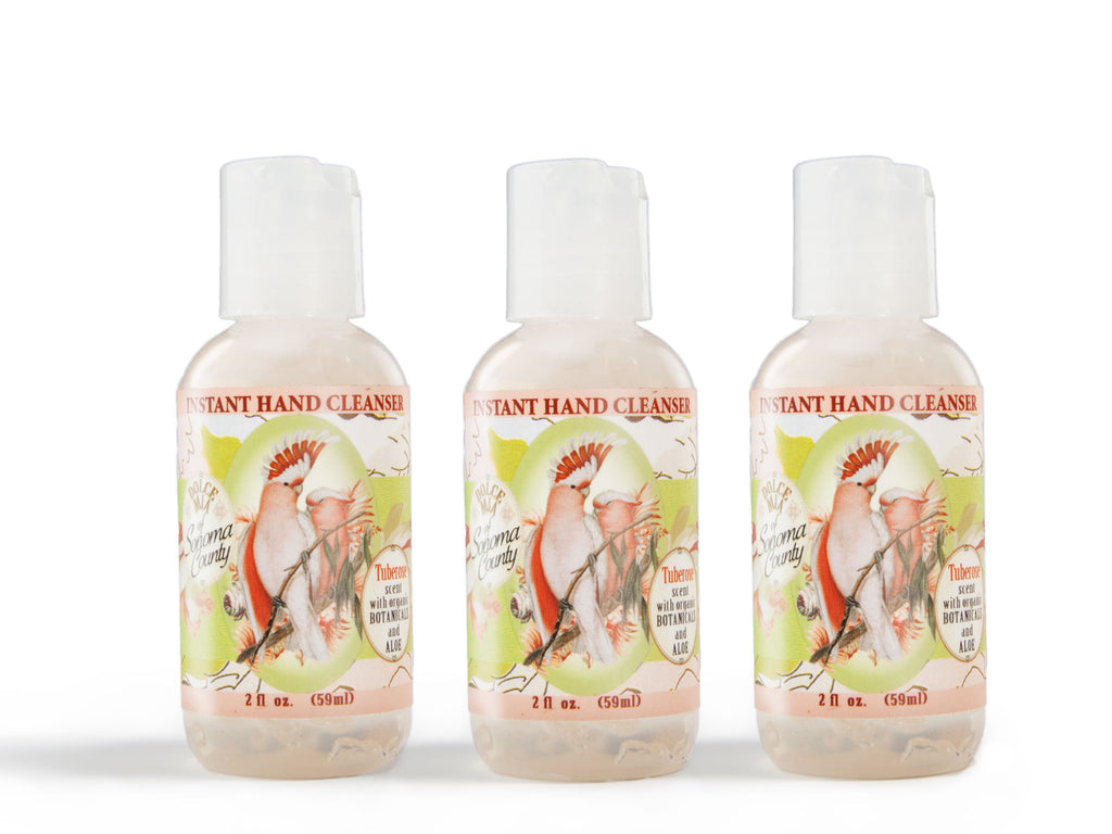 Dolce Mia Waterless Hand Sanitizer Tuberose 2 oz - Set of 3