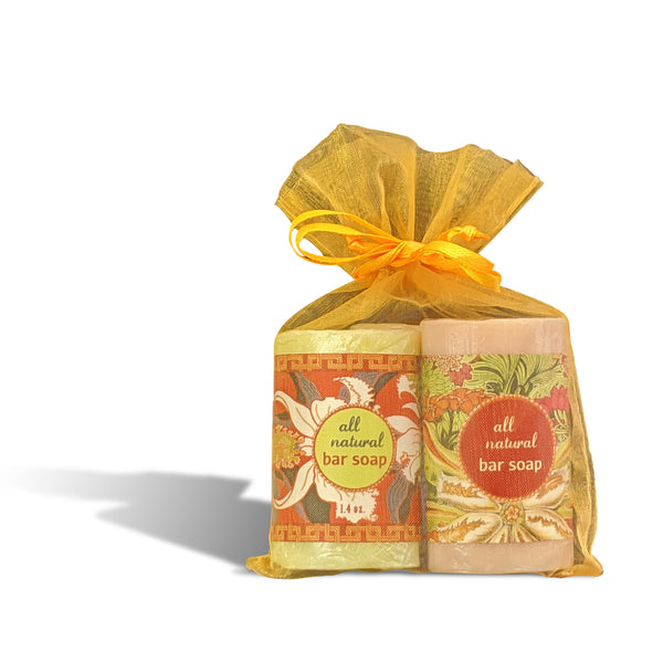 Guest Bars - Set of 3 Assorted - Tuberose, Tropical Citrus & Almond