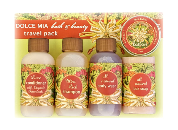 Tuberose 5-piece Travel Set