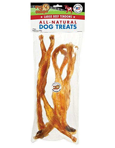 Pet 'n Shape Beef Tendon Natural Dog Treats, Large, 5 Count