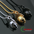 Spartan Warrior Helmet Necklace