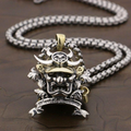 Samurai 925 Sterling Silver  High Quality Necklace 24inch