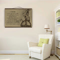 (CV258) Canvas with the wood frame - Viking i choose