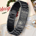 Viking bracelet black (3011)