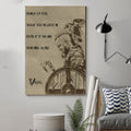 (cv275) viking poster - stand up