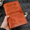 (JD10) Samurai journal Dad Son You will never lose