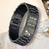 (AF1) American football bracelet Dad Son  LDA