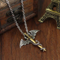 Game of Throne Necklace Flying Dragon