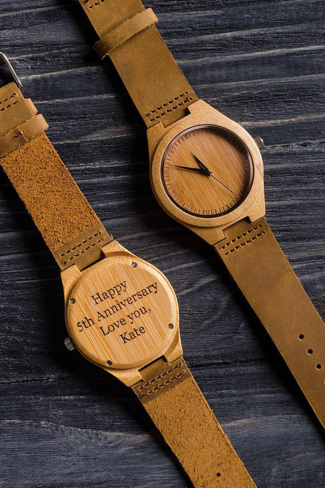 9c1c632a4679 ... Wooden Watches Luxury - Write Your words on The Watch Birthday Gift ...