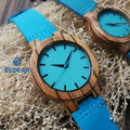 Lovers' Watches - Watch Turquoise Blue Timepieces in Gift Box